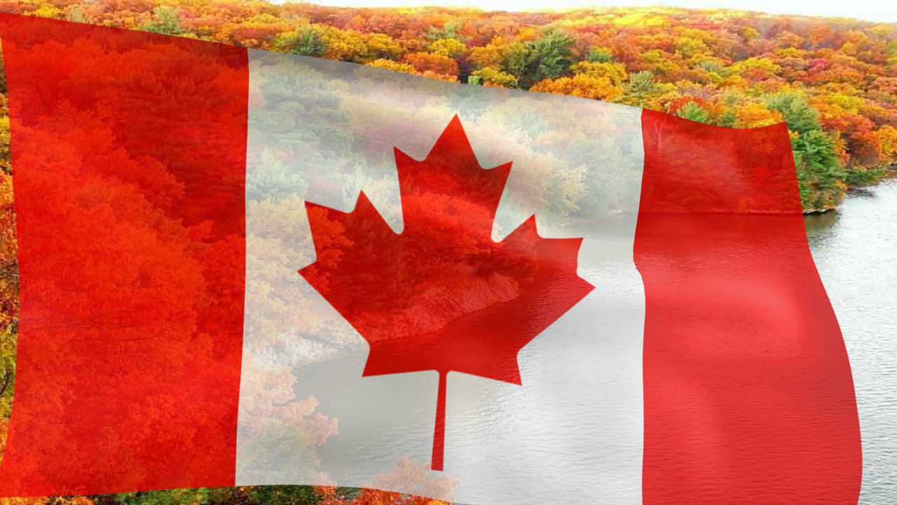 301 moved permanently - Canada flag 3d wallpaper ...