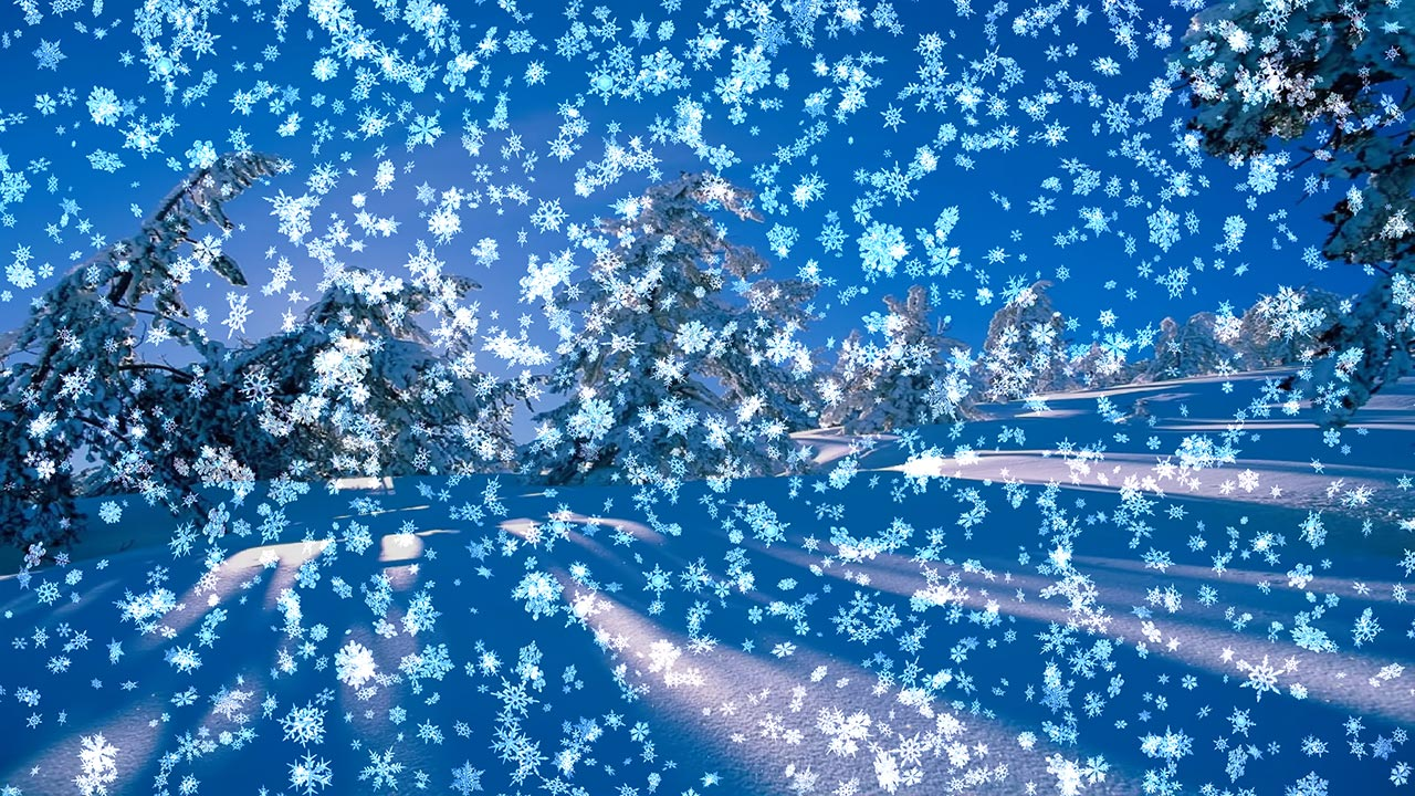 Screenshot for Animated Wallpaper: Snowy Desktop 3D 2.20